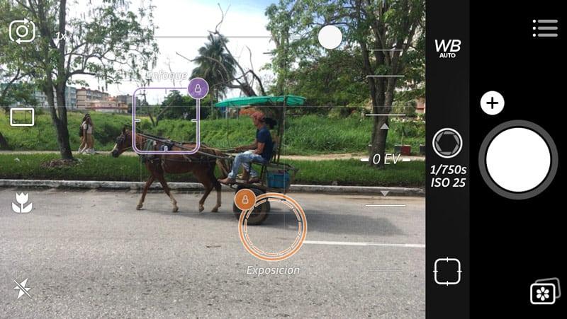 pantalla de camera+, una delas aplicaciones imprescindibles